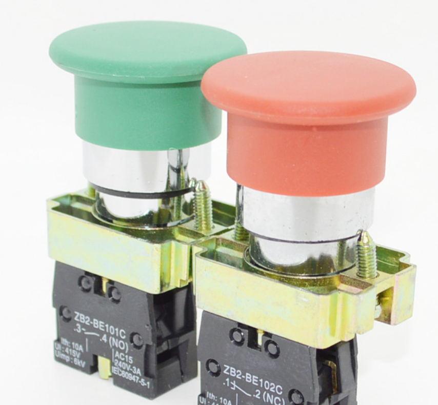 IDEC日本和泉大蘑菇头按钮YW1L-A4E11Q4Y